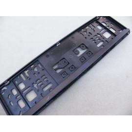 Nummernschildhalter schwarz für kurzes Nummernschild 46cm