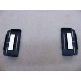2x Nummernschildhalter schwarz für alle Nummernschilder