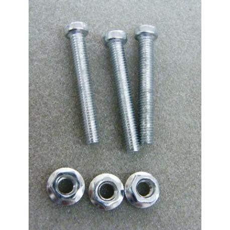 Schraubensatz für Auto Steckdose 7 und 13 polig
