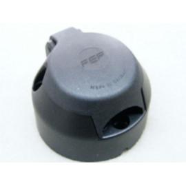 7 polige Steckdose Kunststoff mit Abschaltung für NSL