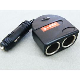 Adapter 1 auf 2 Steckdosen für Zigarettenanzünder