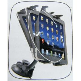 Halter für Tablet an Kopfstütze oder Scheibe