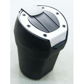 universal Auto Aschenbecher schwarz rund für Getränkehalter