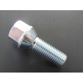 Radschraube M 12x1,5 Kegelbund Länge 30 mm