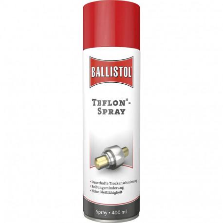 Ballistol Teflon Spray - dauerhafte Trockenschmierung