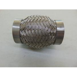 kurzes Auspuff Flexrohr zum anschweißen 50/60 x 105 mm