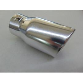 Auspuffblende Aluminium zum anschrauben 76 mm