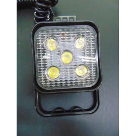 LED Arbeitsscheinwerfer mit Magnetfuß 12 und 24 Volt