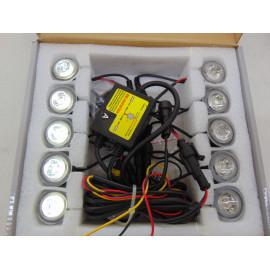10x universal LED Tagfahrlichter mit E Prüfzeichen zum nachrüsten