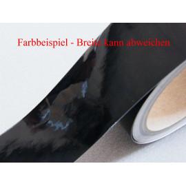 Zierstreifen 90 mm schwarz glänzend 710 RAL 9005