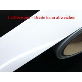 Zierstreifen 40 mm weiss glänzend 720  RAL 9003