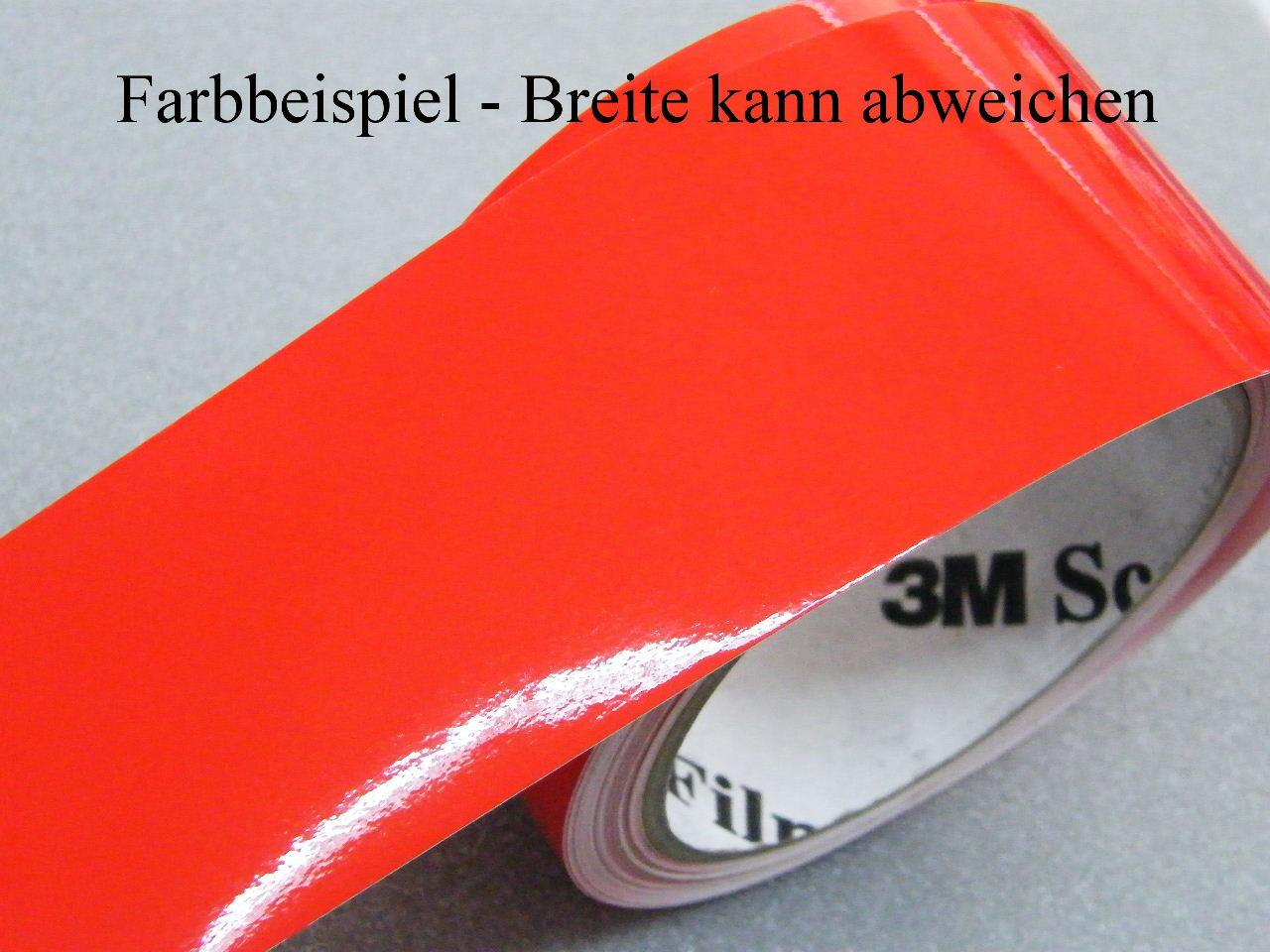 Zierstreifen 20 mm gelb 730 glänzend Zierlinie Dekorstreifen Warnstreifen 2 cm