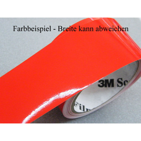 Zierstreifen 3 mm rot glänzend 753